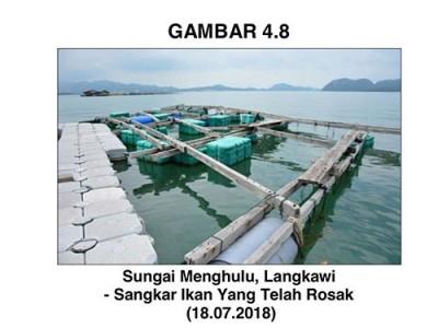 鱼场不只没有鱼,设备也完全被破坏。
