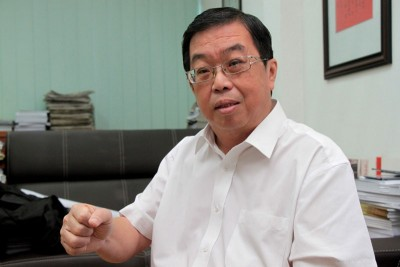 民主行动党全国主席陈国伟。