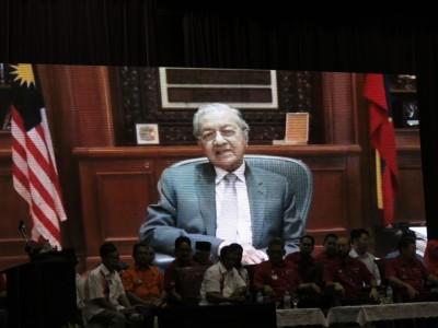 马哈迪未克出席吉打州希盟代表大会。不过通过已录制的短片在大会上向与会者传达讯息,促请希盟各党团结合作,把各党的个人议程摆在一旁。