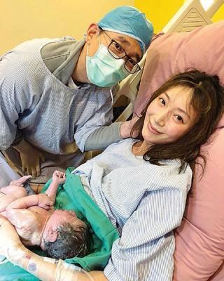 隋棠18日喜迎第三胎到来。