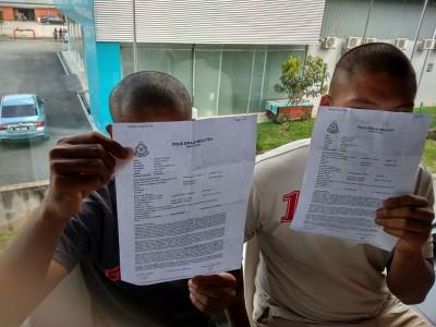 两名戒毒青年不堪凌虐向警方报案。