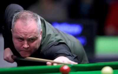 """""""巫师""""约翰希金斯在斯诺克苏格兰公开赛交出了个人职业生涯中第九杆147。"""