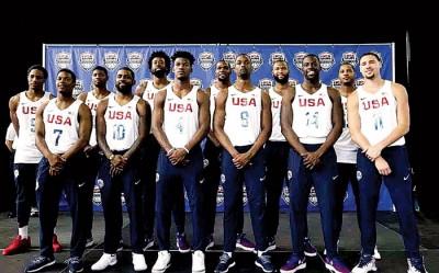 美国男篮可能派梦13参加男篮世界杯。