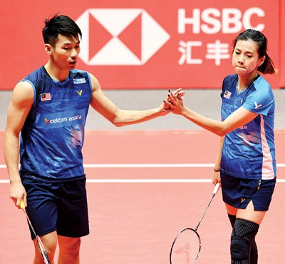 陈炳顺/吴柳莹丢了晋级希望。