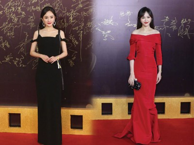 杨幂、唐嫣昔日闺蜜同台比美。
