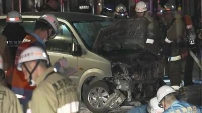 东京涩谷发生一宗汽车冲撞人群事件,8人受伤。