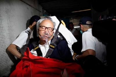 曾荫权周五因身体不适被送到医院治疗,他预定15日刑满出狱。