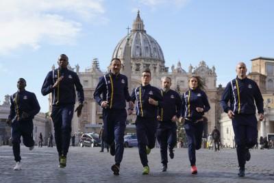 梵蒂冈的神父和修女也创立自己的田径队,他们的最终目标是参加国际比赛,甚至是奥运会。
