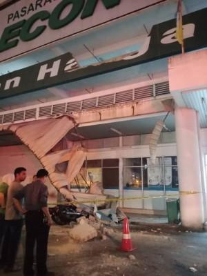 此意外在垄尾宜康省霸级市场2楼停车场发生。
