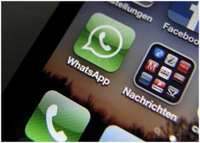 WhatsApp克用户转发讯息的次数。