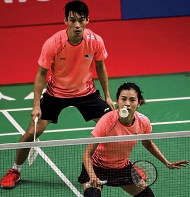 陈炳顺/吴柳莹迫切寻找专属教练监督比赛。