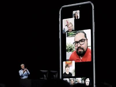 美国苹果公司旗下服务FaceTime近来发现漏洞。