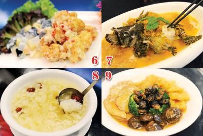 春节单点菜式