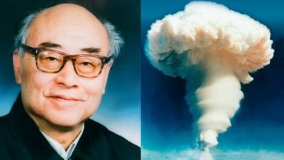 """中华""""氢弹之父""""于敏。希冀右为中华首枚氢弹试爆成功。"""