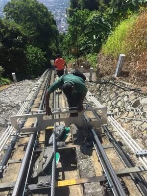 升旗山机构于1月7日至12日进行本年度首个常年保修工程。