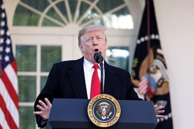 美国总统特朗普在推特上嘲讽说,「全球暖化去哪了?快回来呀!」。