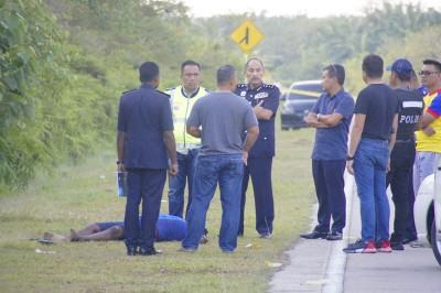 公安部与通缉毒犯引发约15分钟追逐战后,毒犯在争鸣火中为警击毙。