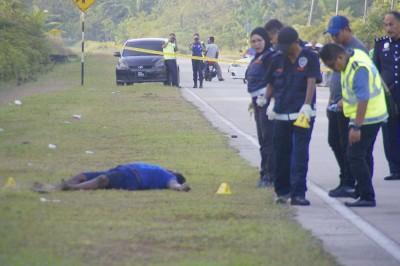 公安部以现场寻获弹壳。