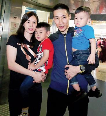 黄妙珠希望李宗伟新的一年会更好。
