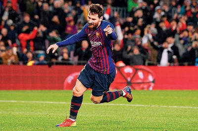 梅西替补登场30分钟就足以成为巴塞隆纳赢得胜利的关键先生。