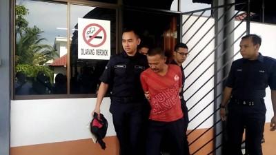 心病狂砍杀2稚龄姐弟的被告人今日为指控3罪。