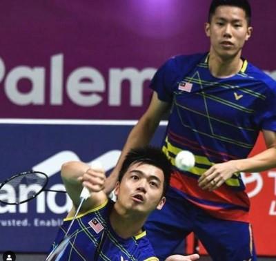 即使离开国家队,吴蔚昇/陈蔚强依然是大马第一号男双。