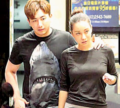 张东晴去年8月被直击和上亿生技小开吴亚璟约会。