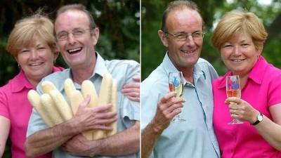凯斯戈登和妻子中了4829万令吉彩票。
