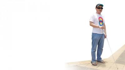 十五碑沿路不乏帮助盲人行走的盲道。一类是条形引导砖,引导盲人放心前行,称为行进盲道;一类是带有圆点的提示砖,提醒盲人前面有障碍,该转弯了,称为提示盲道。