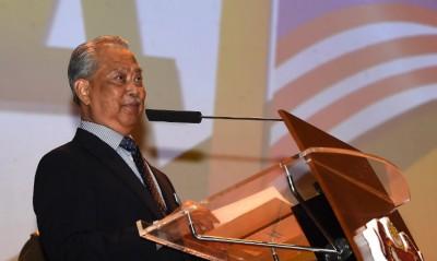 土团党主席丹斯里慕尤丁。