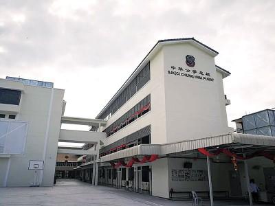 该校新教学楼目前全面竣工,今年7月将向教育部提呈申请全日制。