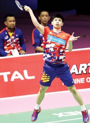 梁峻豪期待能在全国赛打出成绩,为重返国际赛做好热身。
