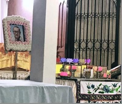 李财发周六出殡,以更百人口陪伴下走完人生最后一程。