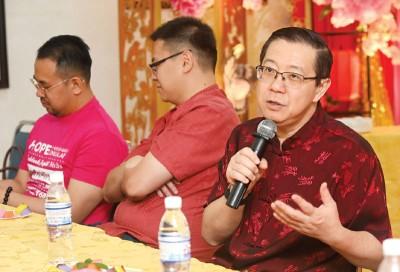 """财政部文告指出,""""林冠英将扼杀马来企业""""的报道,是毫无根据的。(档案照)"""