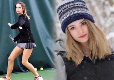 雷恩还兼职青少年模特,但她对网球更加钟爱。