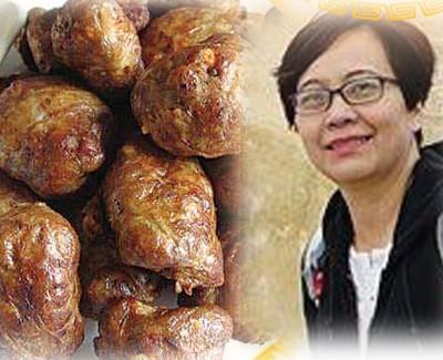 猪网油肉丸 - Julie Ng