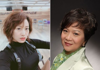 (左)盖世宝遭东家大砍1/3的薪水,引发网友热议。(右)刘桂芳表示不只她被减薪,公司不少人都遭不公平对待。