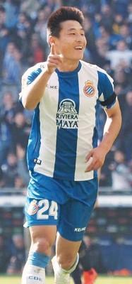 武磊成在西甲联赛打进球的率先号中国球员。