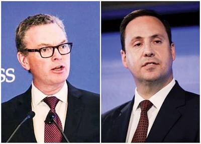 派恩(左图)和乔博(右图)分别请辞。