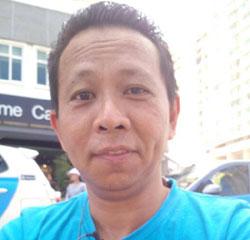 电子召车服务司机洪清丰。