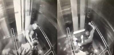 女事主在升降机内遭恶匪暴打劫掠的闭路电视画面,案发后在社交媒体流传,引起网民挞伐与议论纷纷。