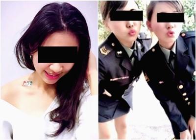 台湾多名女军官上传性感照,呼吁民众参军。
