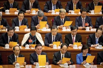 中国政协、人大两会周日起先后揭幕。