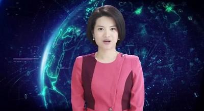 新华社推出的全球首个AI合成女主播新小萌,在两会正式亮相。